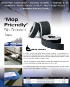 MOP Friendly Non Skid Tape - BLACK, WHITE, GREY (CASES)