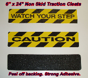 Non Skid Traction Cleats or Treads